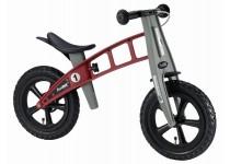 Balansinis dviratis FirstBike CROSS RAUDONAS
