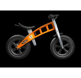 Balansinis dviratis FirstBike RACING ORANŽINIS