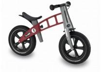 Balansinis dviratis FirstBike RACING RAUDONAS