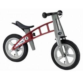 Balansinis dviratis FirstBike STREET RAUDONAS