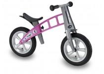 Balansinis dviratis FirstBike STREET ROŽINIS