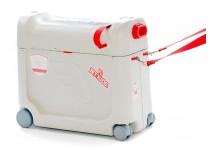 Vaikiškas lagaminas-lovelė BEDBOX, raudonas