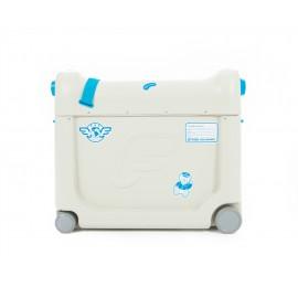 Vaikiškas lagaminas-lovelė BEDBOX, mėlynas