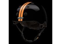 Šalmas Melon STRAIGHT ORANGE BLACK (XS-S)
