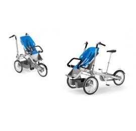 TAGA dviratis-vežimėlis MĖLYNAS