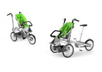 TAGA dviratis-vežimėlis ŽALIAS