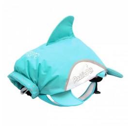 Vaikiška kuprinė TRUNKI PaddlePak Dolphin Jaws Splash