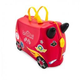 Vaikiškas lagaminas TRUNKI  RACE CAR ROCCO