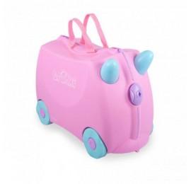 Vaikiškas lagaminas TRUNKI  ROSIE PRINT HANDLES