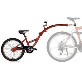 Tandeminis dviratis PRO-PILOT Raudonas