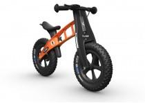 Balansinis dviratis FirstBike SPECIAL FAT ORANŽINIS