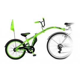 Tandeminis dviratis CO-PILOT Žalias