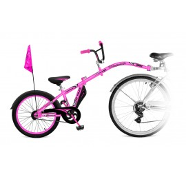 Tandeminis dviratis CO-PILOT Rožinis